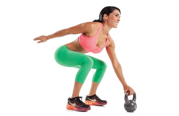 Rock the 'Bells - This kick-ass kettlebell program packs endurance, strength and fat burning into one intense 20-minute routine.
