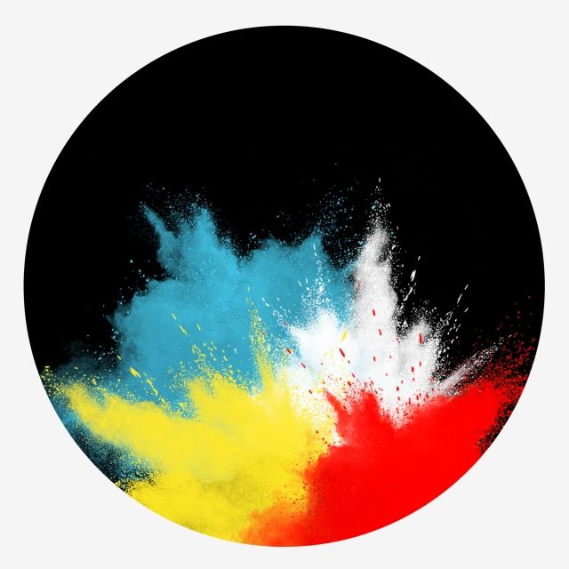 Splatter Hand Drawn Color Splashing Grainy Colorful Smoke Blue Yellow Red Effect Hand Painted Color Splashing Grainy Colorful Smoke Blue Yellow Red Effect Color Paint Splash Background Colored Smoke Blue Background