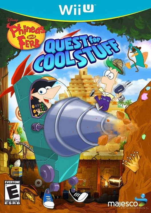 Phineas and Ferb: Quest for Cool Stuff (Wii-U)