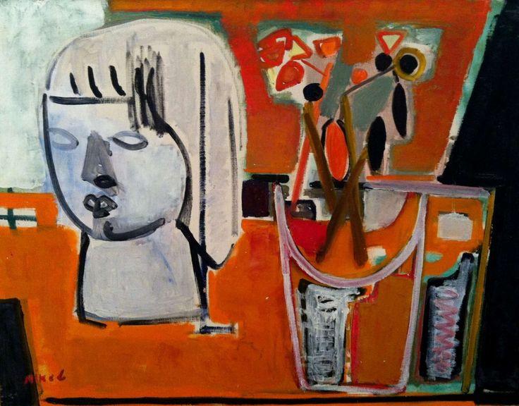 Lea Nikel. Untitled. O/C. 50x65cm. Circa 1950.