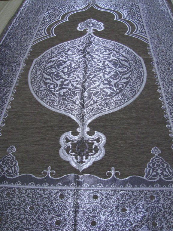 Islamic Prayer Rug - CARPET - Mat Namaz Salat Musallah - Ottoman Pattern