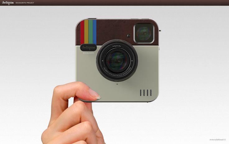 Instagram Socialmatic Camera! « ADR Studio. Cute project. :o)
