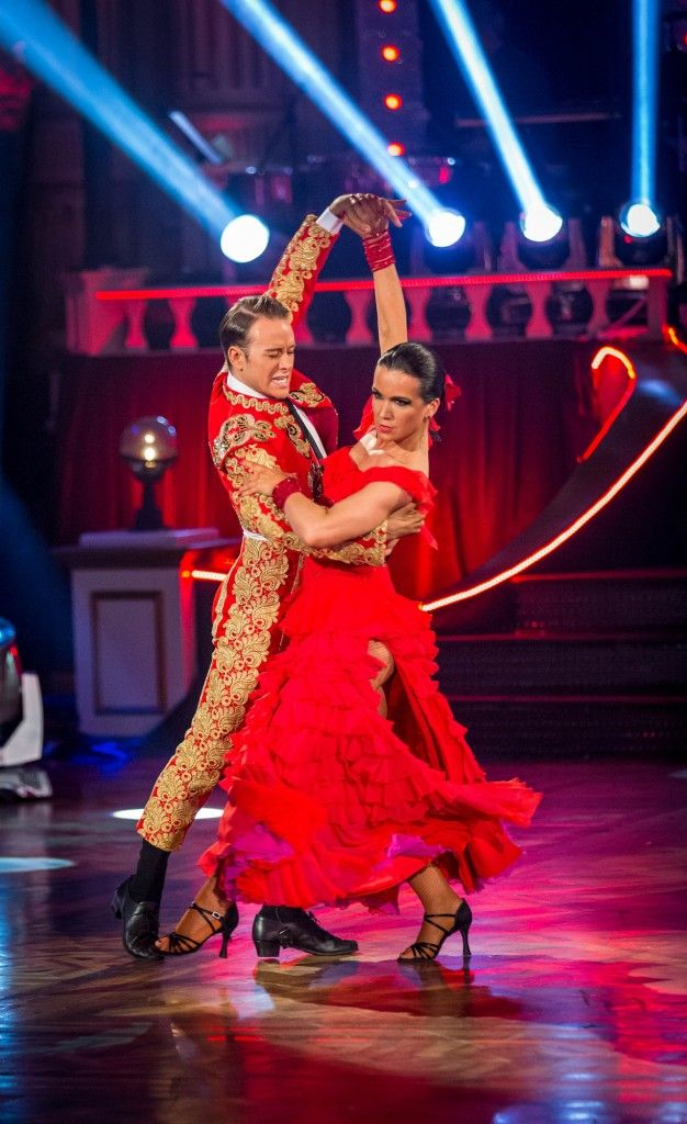 STRICTLY at TOWER BALLROOM BLACKPOOL  Kevin Clifton, Susanna Reid - (C) BBC - Photographer: Guy Levy