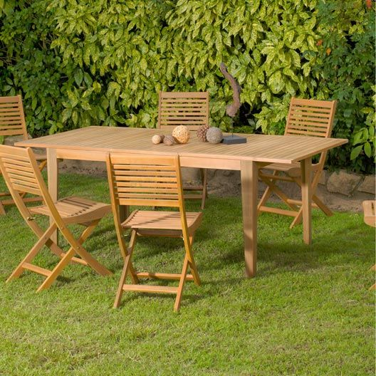Best Table De Jardin Bois Eucalyptus Pictures - Awesome Interior ...