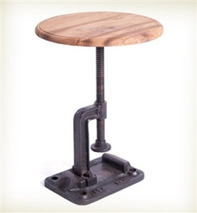 Clamp Stool, goes up & down!