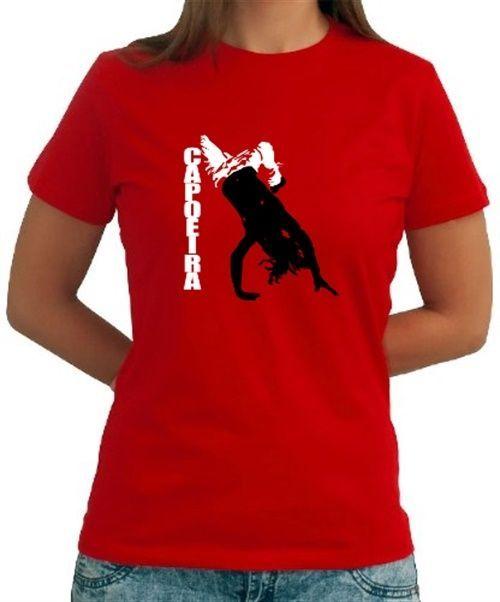 Capoeira  Fighting Dance Women T-Shirt