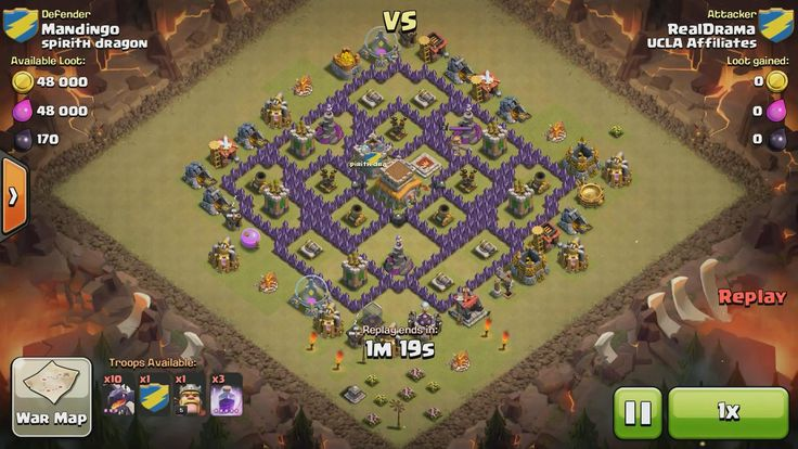 Attacker TH8: 10 Level 3 Dragon, 5 Level 6 Balloon, Level 5 Barbarian King, 3 Level 5 Rage Spell Defender TH8: Level 3 Barbarian King, Rank 6/20