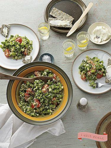 Summery Quinoa Tabbouleh from Sarah Wilson's best-selling I Quit Sugar cookbook. Pre-order your US copy today!