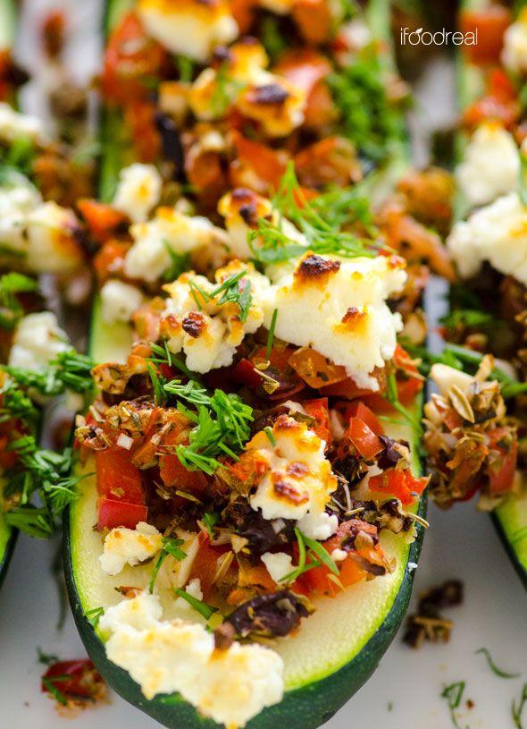 mediterranean-zucchini-sticks-recipe | iFoodReal