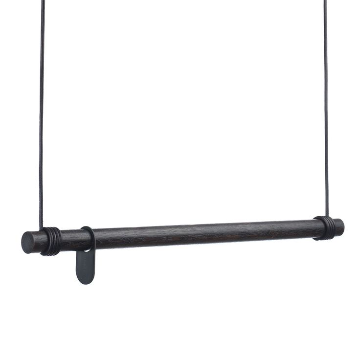 Swing Naulakko 80cm, Musta/Musta Nahka - LindDNA - Lind DNA - RoyalDesign.fi
