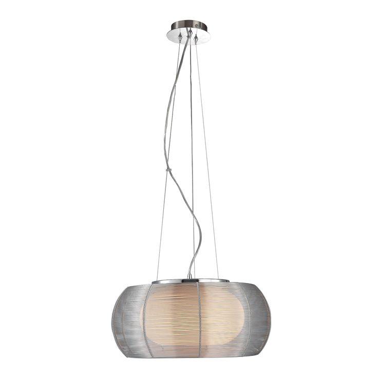 MD1104-2 TANGO LAMPA WISZĄCA SREBRNA - Oświetlenie w salonie meblowym