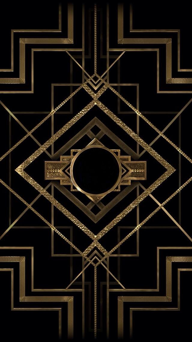 art deco. {We're going to have this blown up onto paper that will fit the size of our photobooth and use it as the background!}
