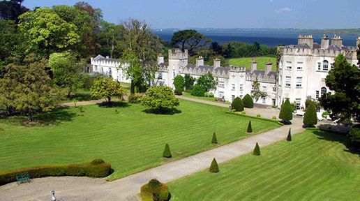 """Wire"" star Dominic West and family to convert Glin Castle into hotel"