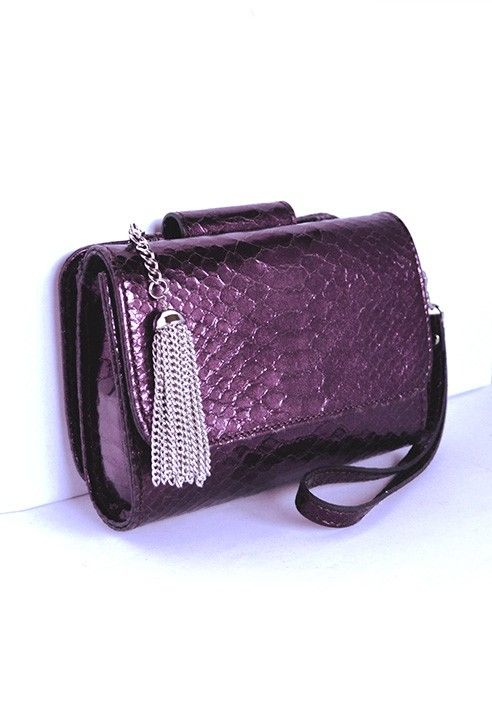 Pochette MiniME iBag Purple MADE IN ITALY  Shop now on www.dezzy.it