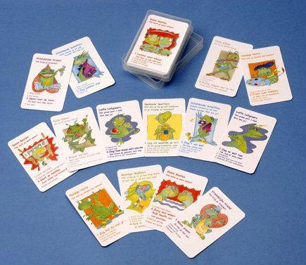 Onderwijs : Coole Kikker Kwartetspel