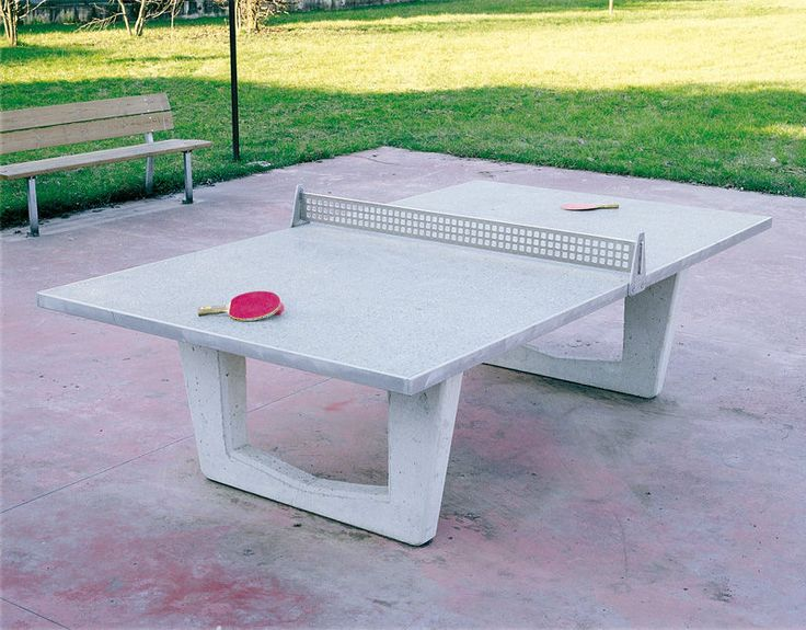 Outdoor ping pong table art 011068 legnolandia dimensional design pinter - Table ping pong prix ...