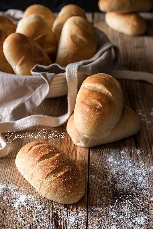 Panini di Heidi morbidissimi #buns #panini #bread #pane