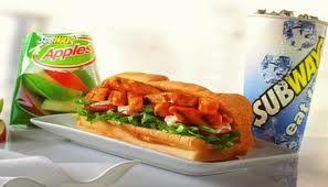 Subway's July $5 Footlong Sub ~ Buffalo Chicken Sub!