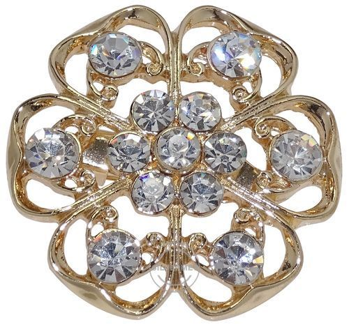 Broszka damska z dżetami. Elegancka broszka damska to niepozorny dodatek biżuteryjny, który w wyjątkowy sposób dopełni każdą kreację.