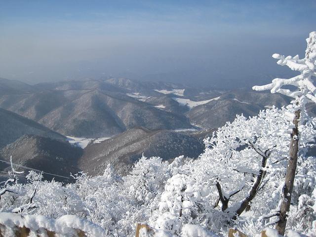 An amazing view at YongPyong!