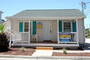 Beach Bungalow is a Beach House Rental in the Ocean Drive Section of North Myrtle Beach, SC.  Elliott Beach Rentals has been specializing in professional management of beach homes and condos since 1959.
