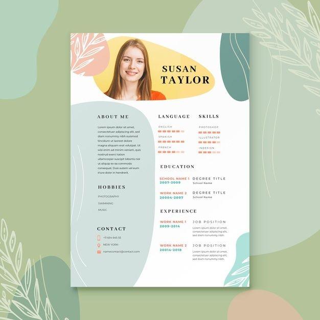 Telechargez Modele De Cv Moderne Gratuitement Resume Design Creative Graphic Design Cv Graphic Design Resume