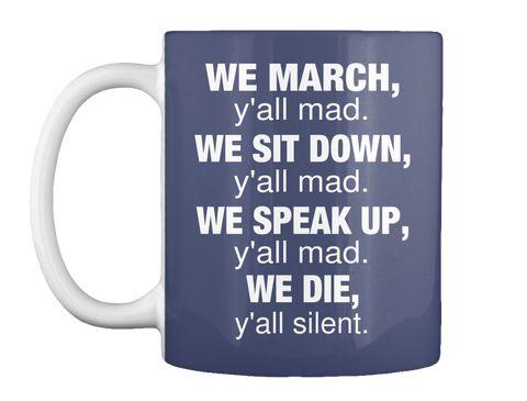 We March Mug