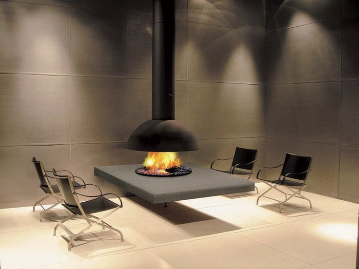 Suspended Focus Models Fireplace Design By Custom Fireplace Designs – 16 | Designalmic