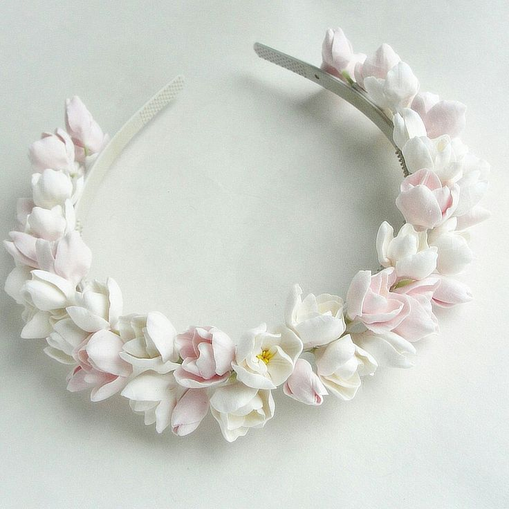 Headband. Handmade flowers. Flowers. Handmade. Handcrafted. Hair accessories…