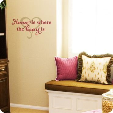 Best Home Sweet Home Images On Pinterest Christmas - Custom vinyl wall decals removal options