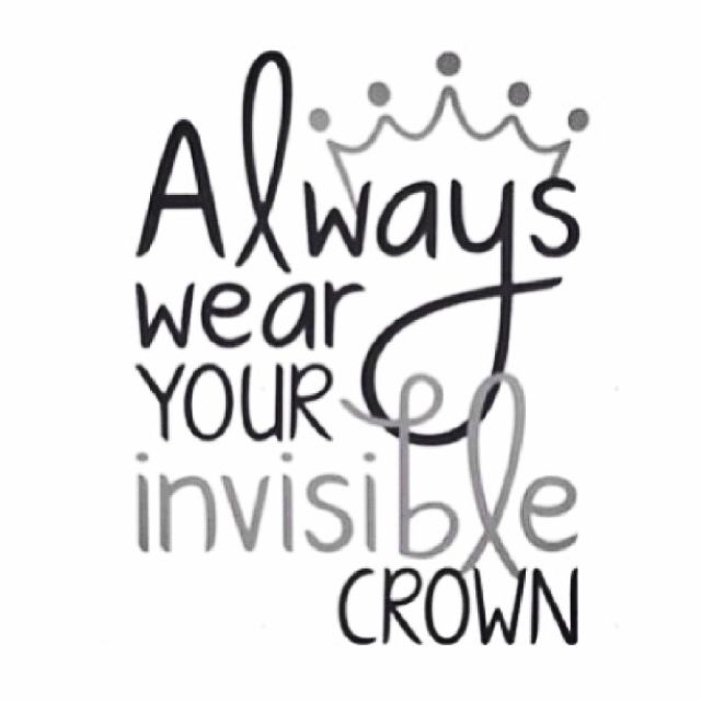 Look up scripture...put in sis room. Always wear your invisible crown (Reminds me of Gigi God's Little Princess... Definitely could tie this into a kid's message about living for Jesus)