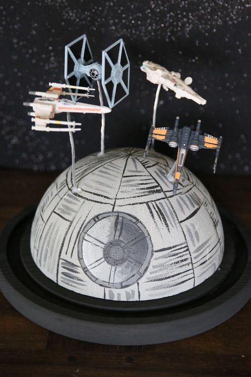 This Star Wars party rental collection will awaken the force in all party guests! Star Wars action figures, signage, linens, and centerpieces are all included to make your party planning simple!