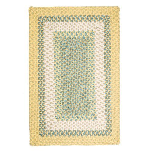 Montego Rectangle Braided Rug by COLONIAL MILLS. $257.62. Montego Rectangle Braided Rug. Step outside and have some fun with the vibrant colors and practicality of this contoured rectangle rug! Make a statement with color that won't fade or stain. Chenille yarns woven into alternating Cablelock and flat braid rows create a softness and sophistication that's hard to resist. Each Montego Rectangle Rug is made from 100% polypropylene that is stain resistant and for indoor/outdoo...