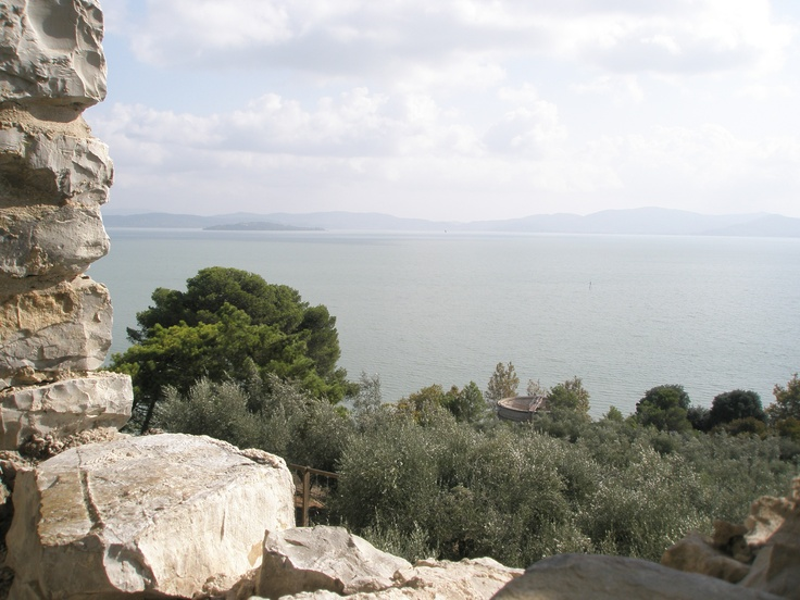 Blick auf den Lago Trasimeno