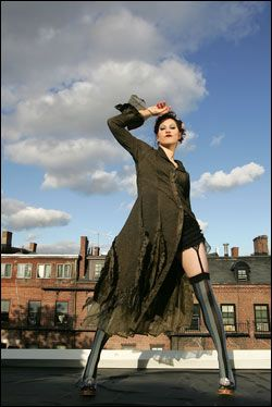 amanda palmer, fell in love with her music when neil gaiman suggested her on his live journal. :) :)