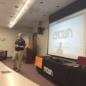 Crown Equipment Speaks with MVCTC Seniors | Miami Valley Career Technology Center