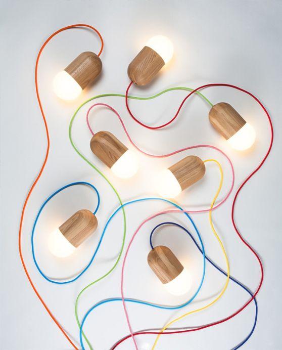 LightBean lamp by Katerina Kopytina