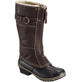 SOREL Women's Winter Fancy Tall II Winter Boot - Brown/Black | DICK'S Sporting Goods
