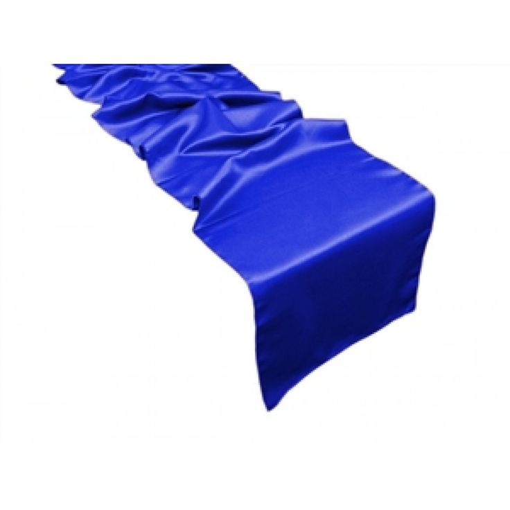 NEW! L'Amour Satin Table Runner Royal Blue [EF L'Amour