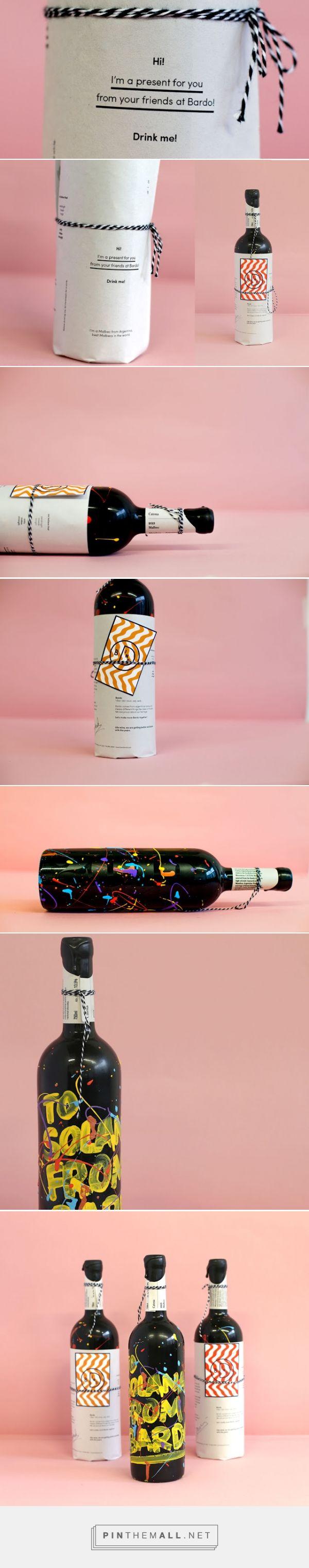 Cheers 2016! wine - Packaging of the World - Creative Package Design Gallery - http://www.packagingoftheworld.com/2016/01/cheers-2016.html