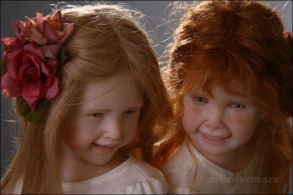 Художественные куклы Лауры Скаттолини