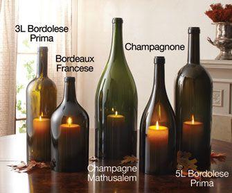 Italian Wine Bottle Hurricanes