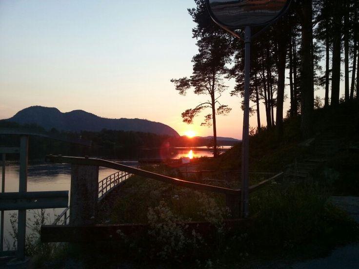 Sunset in Sweden