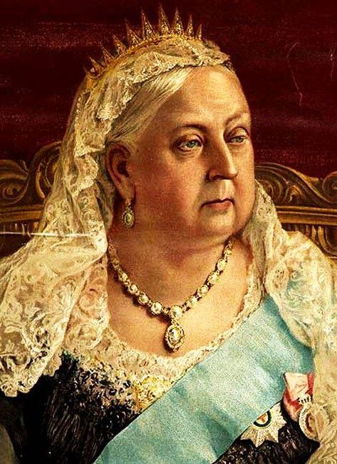 Королева  Англии  Виктория.