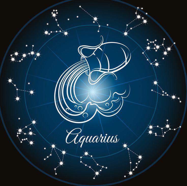 Zodiac sign aquarius vector image on VectorStock Horoscope Signs Aquarius, Aquarius Images, Zodiac Horoscope, Astrology Chart, Astrology Signs, Signes D'air, Aquarius Constellation Tattoo, Zodiac Signs Symbols, Line Art Vector
