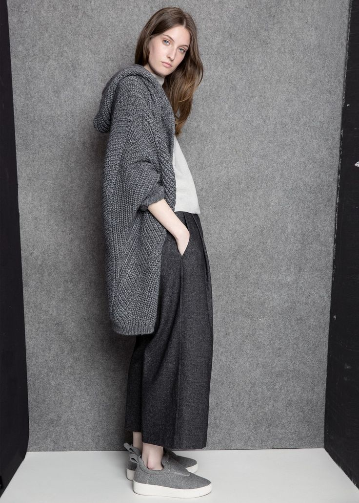 Mango Premium collection - Hooded alpaca-blend cardigan