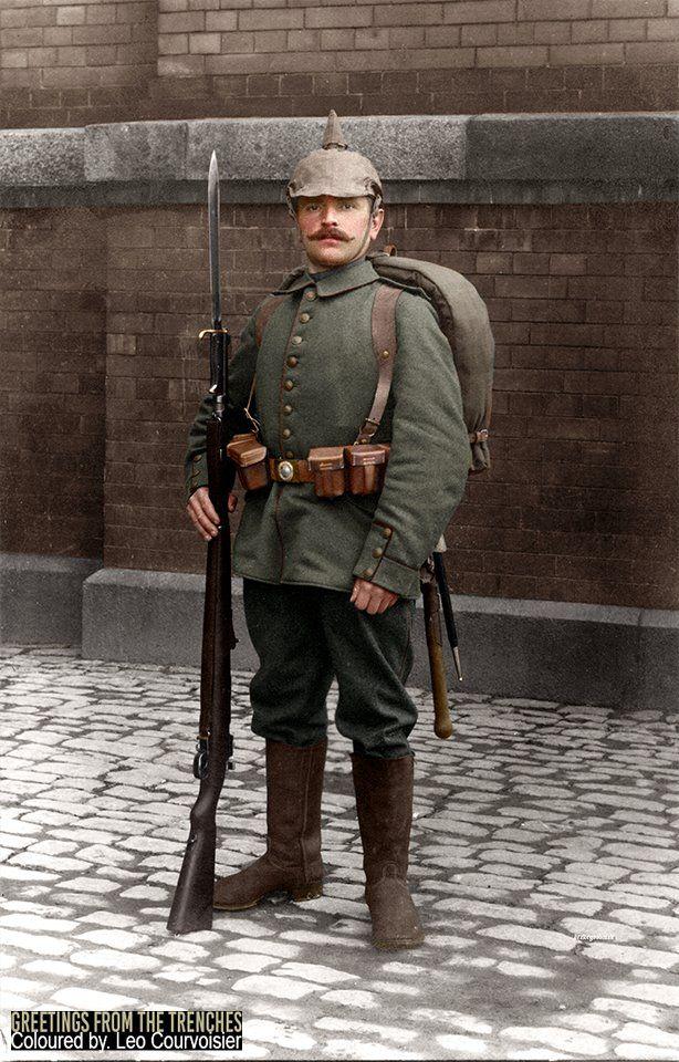 bearenhunger: Infanterist von 7. Thüringisches Infanterie ...