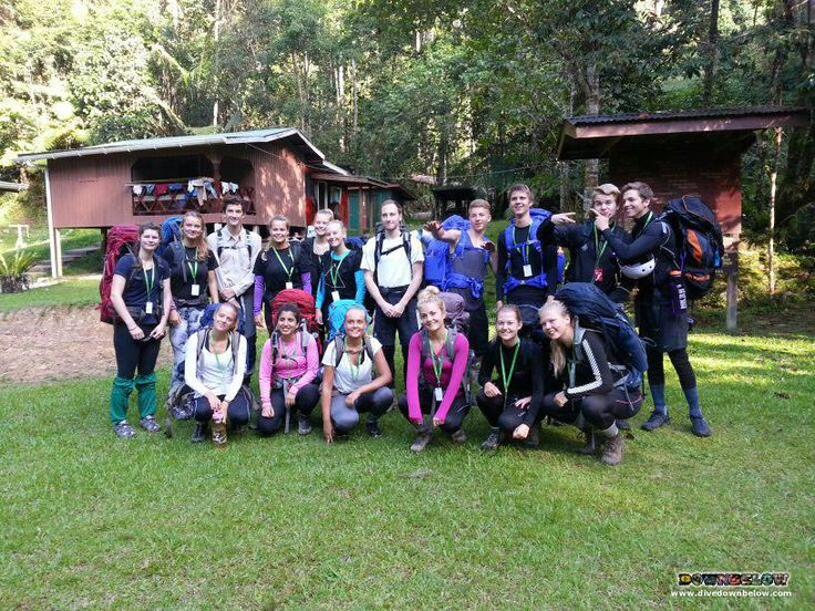 Photo opportunity of BEFORE the group start on their Salt Trails :)
