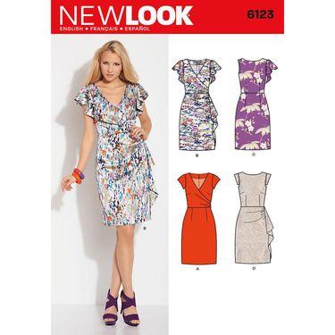 Sewing Patterns Australia Vogue V Misses Dress Spotlight Australia