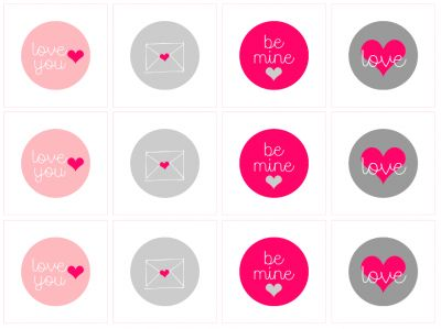 FREE Printable Valentine Tags that I created for @Parenting!